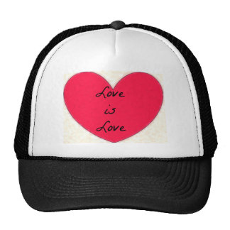 love is love clothing hats
