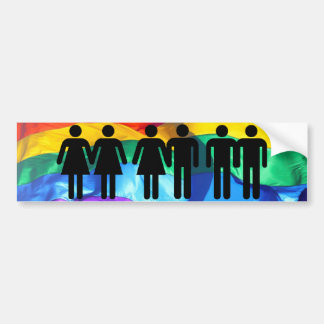 Love Is Love Gay Pride Bumper Sticker
