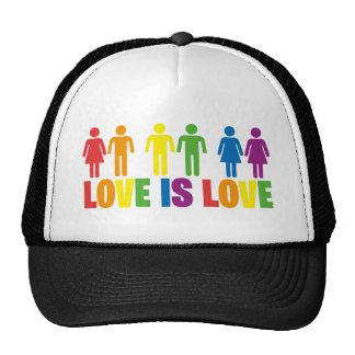 Love is Love Trucker Hats