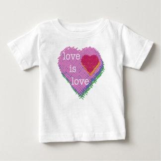 Love is Love Heart baby T-shirt