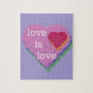 love is Love Heart Puzzle