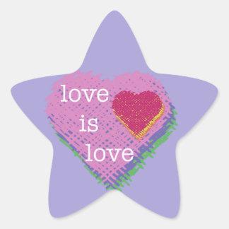 Love is Love Heart Sticker