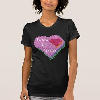 Love is Love Heart T-shirt