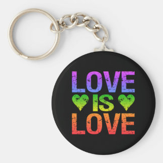 Love Is Love key chain - choose style