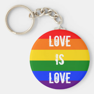 Love is love key ring