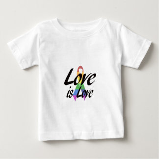 Love is Love LGBT Awareness Baby T-Shirt