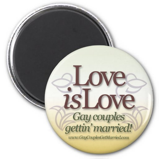 Love is Love Refrigerator Magnets