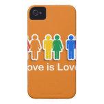 LOVE IS LOVE ORANGE