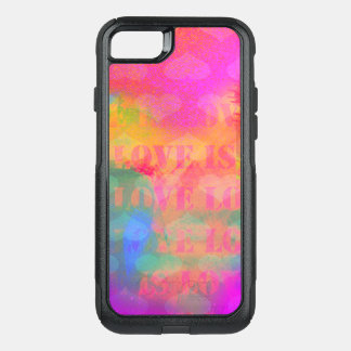 Love Is Love OtterBox Commuter iPhone 7 Case