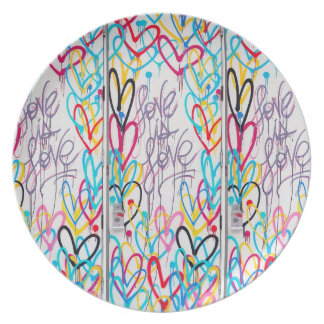 Love Is Love Plate