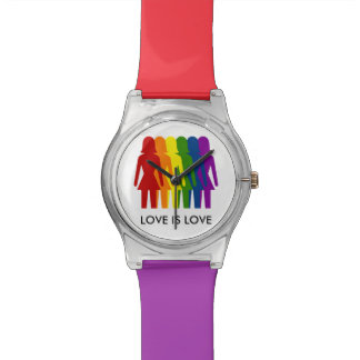 Love Is Love Rainbow Watch