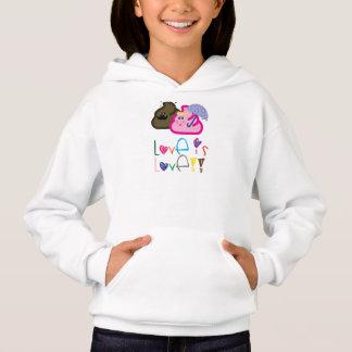 Love is Love T-Shirt: Poo & Icecream Loving Couple