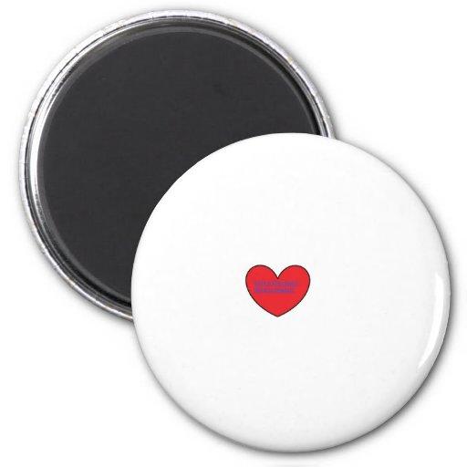 Love is magic fridge magnet
