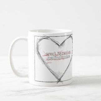 Love is not a Palindrome Coffee Mug