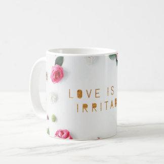 Love is Not Irritable, small roses Coffee Mug