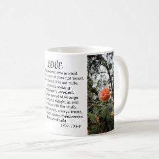 Love is Patient 1 Corinthians 13:4-8 Mug