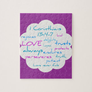 Love is Patient, Love is Kind Jigsaw Puzzle
