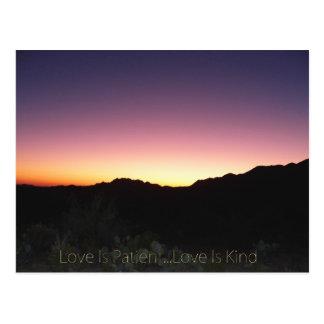 Love Is Patient...Love Is Kind Postcard