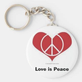 Love is Peace!  Key Chain