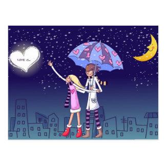 Love Is . . . Postcard