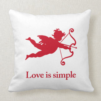 Love_is_simple red Cupid Cushion