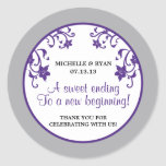 Love is Sweet - Flowers Round Stickers