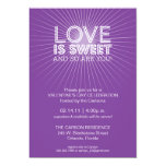 Love is Sweet Party Invitation