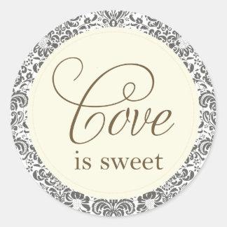 love is sweet sticker