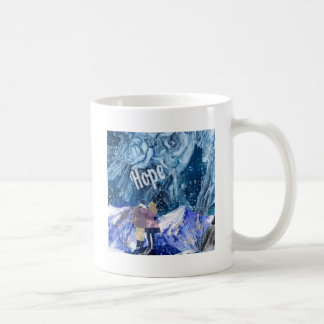 Love is the only hope in our life. coffee mug