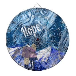 Love is the only hope in our life. dartboard