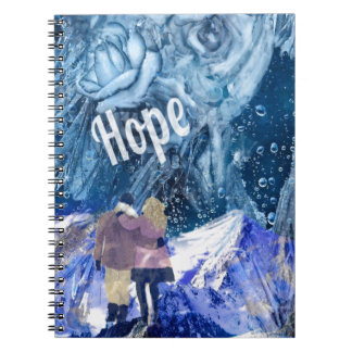 Love is the only hope in our life. notebook