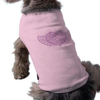 Love is Weird III Sleeveless Dog Shirt