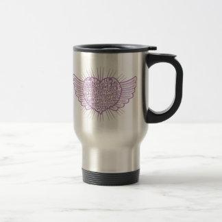 Love is Weird III Stainless Steel Travel Mug