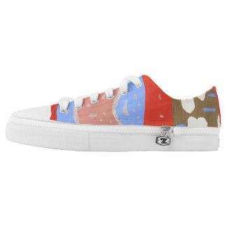 Love Island Low Tops Printed Shoes