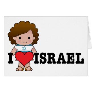 Love Israel Card