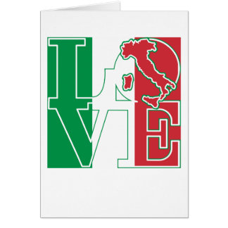LOVE Italian Style Card