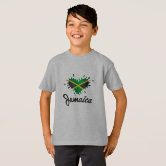 Love Jamaica - Proud Jamaicans - kids shirt