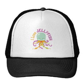 Love Jellyfish Mesh Hat