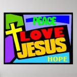 Love Jesus Poster