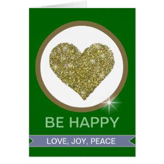LOVE JOY PEACE CARD