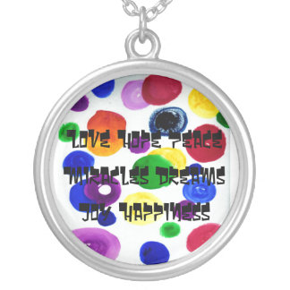 Love-Joy-Peace-Hope & More Personalized Necklace