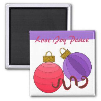 Love Joy Peace Magnet