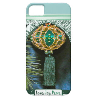 Love, joy Peace, Turquoise iPhone 5 Covers