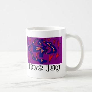 love jug basic white mug