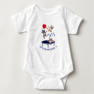 love jumping pussies baby bodysuit
