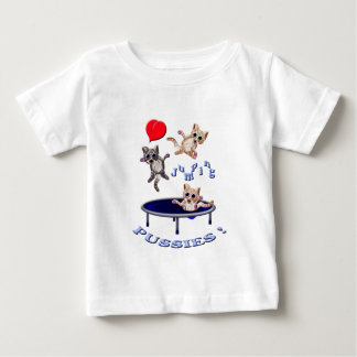 love jumping pussies baby T-Shirt