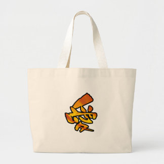 love kanji canvas bags