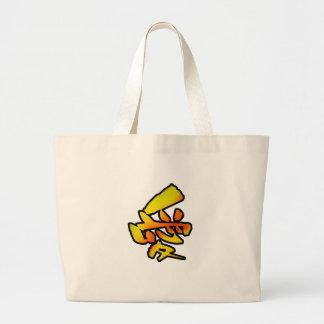 love kanji canvas bag