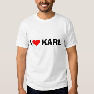 Love Karl Tee Shirts