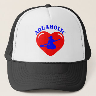 Love Kayaking Girl Trucker Hat